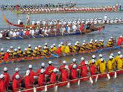Lễ hội Bon Om Thook tại Campuchia