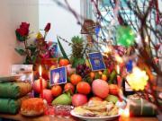 Không nên đặt cành vàng lá ngọc xin ở chùa lên bàn thờ
