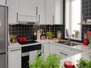 Bài trí cây xanh để tăng sinh khí cho phòng bếp