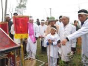 Những người điều hành công việc trong lễ tang