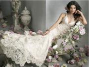 Ngắm váy cưới xuân 2016 đẹp lung linh cho 12 cô dâu hoàng đạo