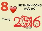 Infographic: 8 trái tim thành công rực rỡ năm 2016