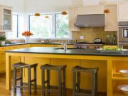 Những mẫu nhà bếp đẹp hợp với người mệnh Kim