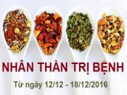 Xem ngày tốt xấu trị bách bệnh tiêu tan: Tuần từ 12 - 18/12/2016 (phần 1)