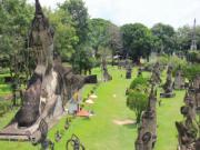 Ghé thăm vườn tượng Phật tại Lào: Như lạc vào tiên cảnh