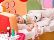 Con ốm yếu, cha mẹ kiểm tra lại vị trí kê giường ngủ