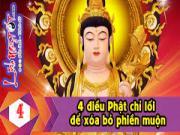 Mách bạn 4 tuyệt chiêu thoát khỏi khổ đau của nhà Phật