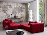 Phong thủy phòng khách chiêu tài với bộ ghế sofa chuẩn màu
