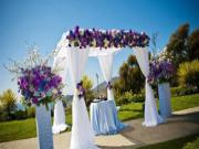 Gợi ý trang trí đám cưới bằng hoa tươi cho ngày vui hạnh phúc
