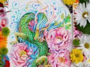 Siêu phẩm màu nước 12 con giáp hòa quyện cùng thiên nhiên tuyệt đẹp