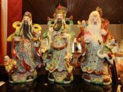 Tết Đinh Dậu: Bày tượng Tam Đa đúng chuẩn, Tam Tinh luôn ngự trị trong nhà