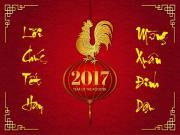 Lời chúc Tết hay và ý nghĩa nhất xuân Đinh Dậu 2017
