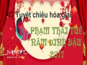 Tuyệt chiêu hóa giải Phạm Thái Tuế năm Đinh Dậu 2017