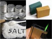Để muối, đất, bạc, gỗ, diêm trong ví có thực sự mang lại may mắn?