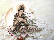 Tết Trung Thu tụng chú Nguyệt Quang Bồ Tát tán tai, cầu an