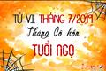 Tử vi tháng 7/2019 tuổi Ngọ âm lịch: Chớ giận quá mất khôn!