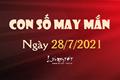 Con số may mắn hôm nay 28/7/2021 theo tuổi: Tìm số may mắn giúp bạn DỄ TRÚNG LỚN