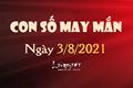 Con số may mắn hôm nay 3/8/2021 theo tuổi của bạn: Số may mắn giúp bạn TRÚNG LỚN